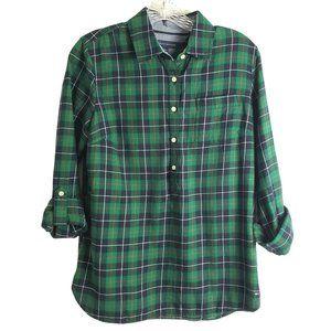 Tommy Hilfiger Plaid Long Sleeve Button Down Shirt